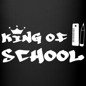 King of School Bottles & Mugs - Full Colour Mug