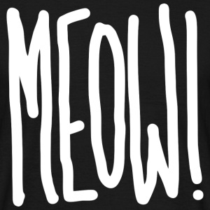 Meow! (dark) T-Shirts - Men's T-Shirt