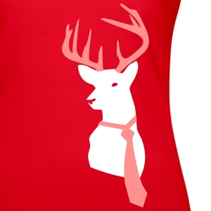 Red Deer with tie T-Shirts - Women's T-Shirt