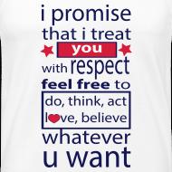 Ontwerp ~ I promise respect