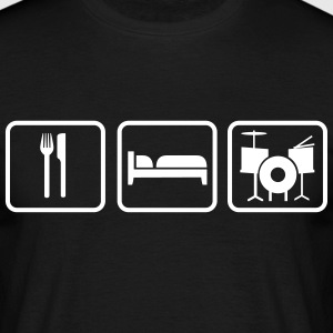Eat Sleep Schlagzeug, Eat Sleep Drums T-Shirts - Men's T-Shirt