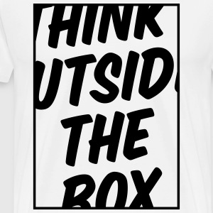 Think Outside The Box Shirt - Männer Premium T-Shirt