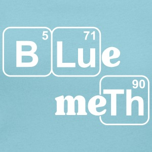 Blue Meth_V1 T-Shirts - Women's Scoop Neck T-Shirt