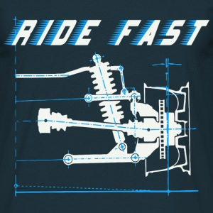 ride faster T-Shirts - Men's T-Shirt