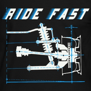 ride faster T-Shirts - Men's Ringer Shirt