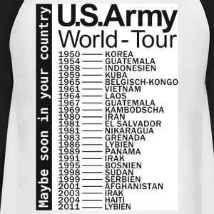 US-Army-World-Tour - Männer Baseballshirt langarm