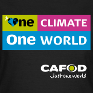 Design ~ One Climate One World campaign Womens T-shirt