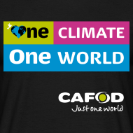 Design ~ One Climate One World campaign T-shirt