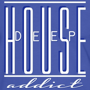 DEEP HOUSE ADDICT T-Shirts - Men's Ringer Shirt