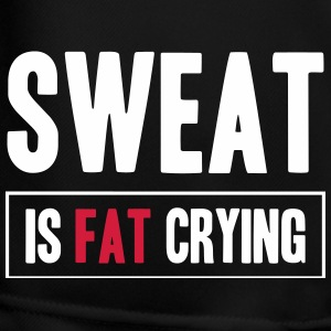 Sweat Is Fat Crying Trousers & Shorts - Men's Football shorts