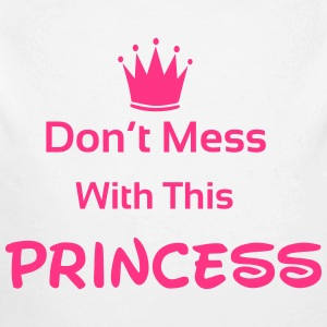 Princess Pullover & Hoodies - Baby Bio-Langarm-Body