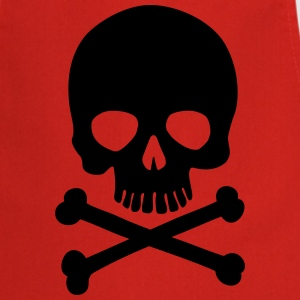 Pirate Skull - Trendy & Cool Skull  Aprons - Cooking Apron
