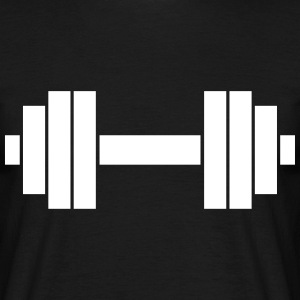 Barbells  T-shirts - Mannen T-shirt
