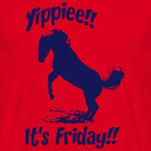 Yippie! I'ts friday T-Shirts - Männer T-Shirt
