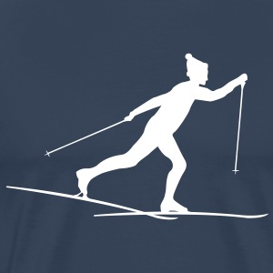 Cross country skiers Cross country T-Shirts - Men's Premium T-Shirt