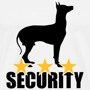 Security dog T-shirts - Herre premium T-shirt