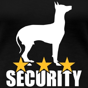 Security dog T-Shirts - Frauen Premium T-Shirt