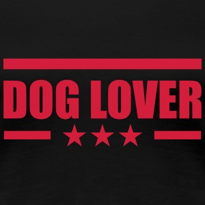 Dog Lover T-skjorter - Premium T-skjorte for kvinner