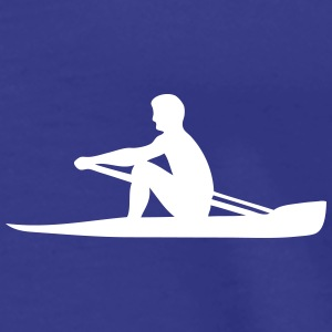 logo sport rowing aviron homme 3063 Tee shirts - T-shirt Premium Homme