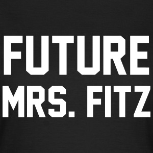 Future mrs. Fitz T-skjorter - T-skjorte for kvinner