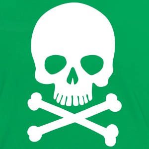 Pirate Skull - Trendy & Cool Skull T-Shirts - Women's Ringer T-Shirt