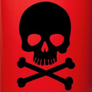 Pirate Skull - Trendy & Cool Skull Bottles & Mugs - Full Colour Mug