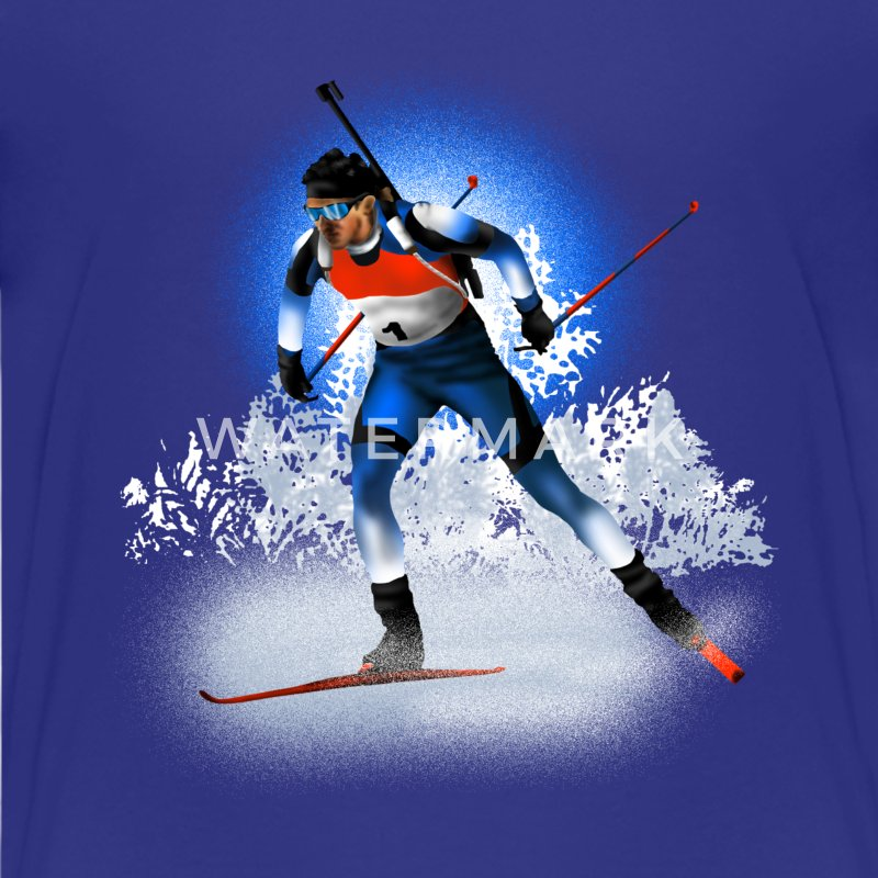biathlon Shirts - Teenage Premium T-Shirt
