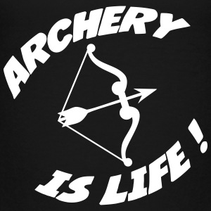 Archery is life ! Shirts - Teenage Premium T-Shirt