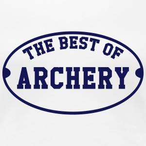 The Best of Archery  T-shirts - Dame premium T-shirt