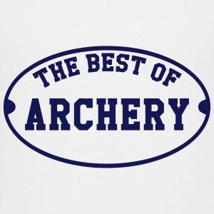 The Best of Archery  T-shirts - Teenager premium T-shirt