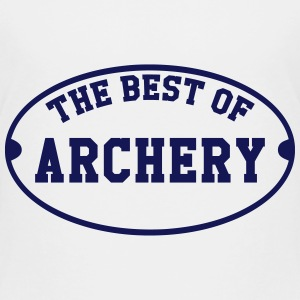 The Best of Archery  T-shirts - Børne premium T-shirt