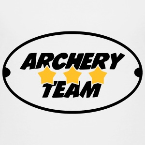 Archery Team Skjorter - Premium T-skjorte for barn
