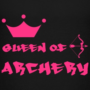 Queen of Archery  Shirts - Teenager Premium T-shirt