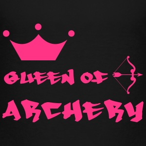 Queen of Archery  Shirts - Kinderen Premium T-shirt