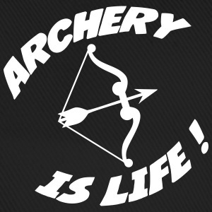 Archery is life ! Caps & Mützen - Baseballkappe