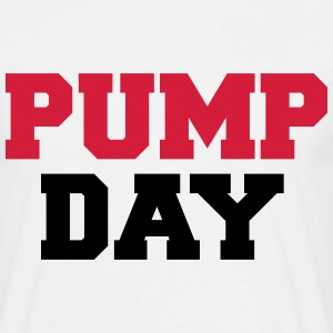 Pump Day T-Shirts - Männer T-Shirt