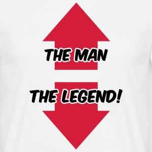The Man, The Legend T-shirts - Herre-T-shirt
