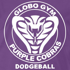 Dodgeball - Purple Cobras BIG - Männer Premium T-Shirt