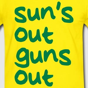 SUNS OUT GUNS OUT Tee shirts - T-shirt contraste Homme