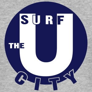 surf the city_vec_3 en T-Shirts - Men's Slim Fit T-Shirt
