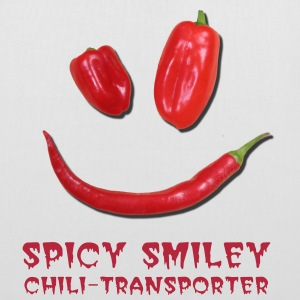 SPICY SMILEY - Stoffbeutel