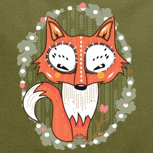 Oliva a small fox in the forest Borse & zaini - Zaino