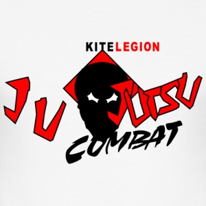 kl_vec_3c_png_combat_jujutsu_back T-shirts - Men's Slim Fit T-Shirt