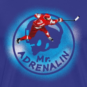 Eishockey Mr. Adrenalin T-Shirts - Männer Premium T-Shirt