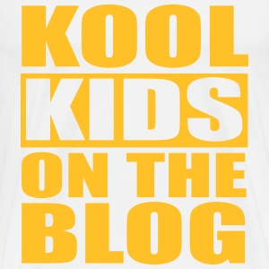 Kool Kids On The Blog T-Shirts - Männer Premium T-Shirt