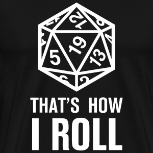 Dungeons and Dragons - Männer Premium T-Shirt
