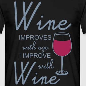 Wine T-shirts - Mannen T-shirt