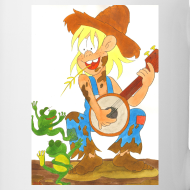 Motiv ~ Country Musik und Froschkonzert