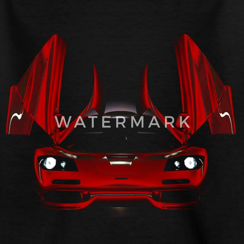 supercar Shirts - Kids' T-Shirt