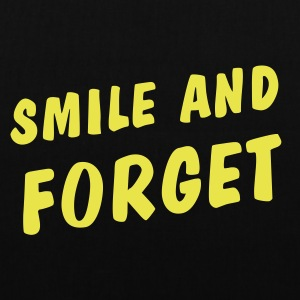 smile and forget Bags & Backpacks - Tote Bag